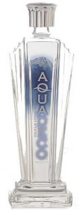 Leading Glacial Bottled Water Brand Logo: Aquadeco